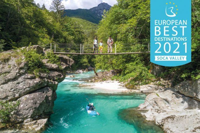 Das Sočatal wurde von der Europäischen Kommission als eines der besten Reiseziele für nachhaltigen Tourismus ausgezeichnet.
