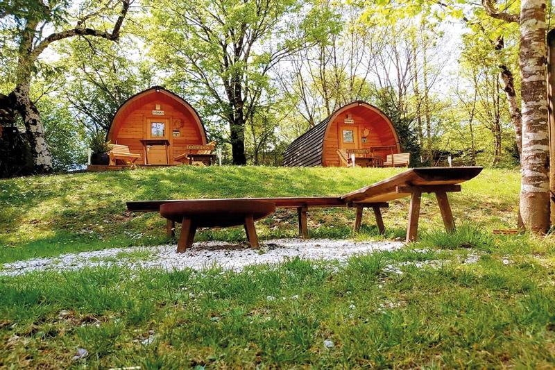 Die bestens ausgestatteten Glamping-Bungalows erfreuen sich immer größerer Beliebtheit. Fotos: Camp Liza