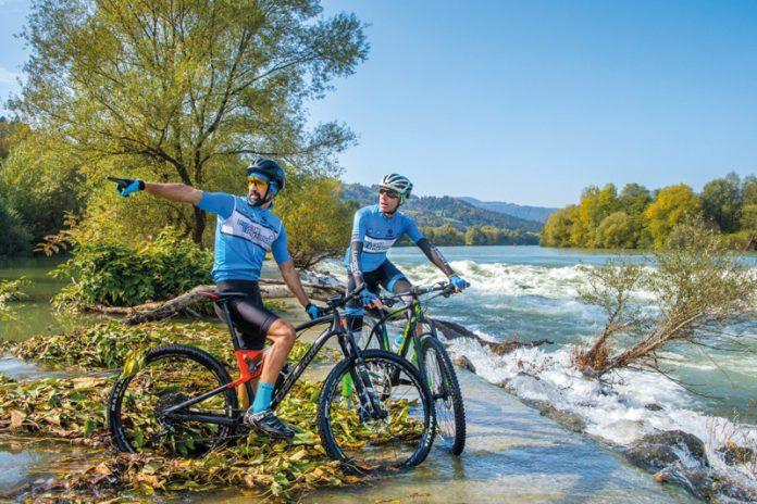 Am längsten slowenischen Fluss, der Save, eröffnen sich herrliche Radtouren.