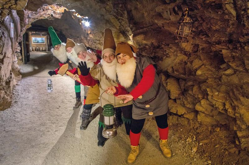 Im Bergwerk Sitarjevec wurden die interessantesten Bergbaugeschichten aufbereitet.Fotos: Občina Litija