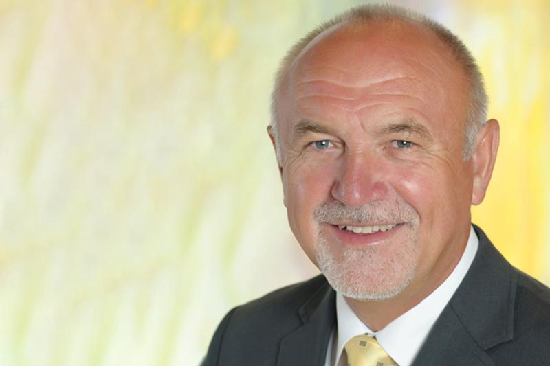 Bürgermeister Franz Zwölbar