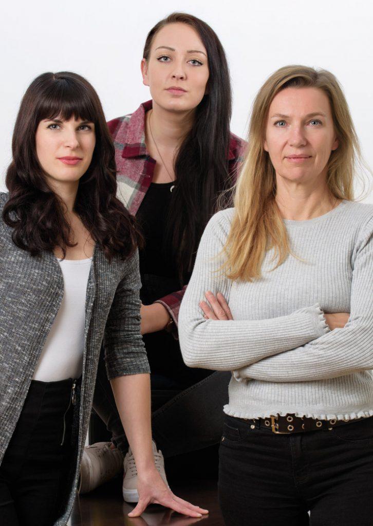 Grafik Team: Carmen Dullnig, Michaela Glawichnig, Samira El-Sayed